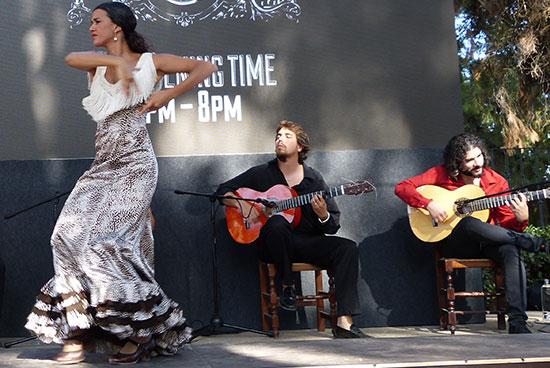 guitar and dancing