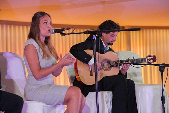 flamenco singing and guitar