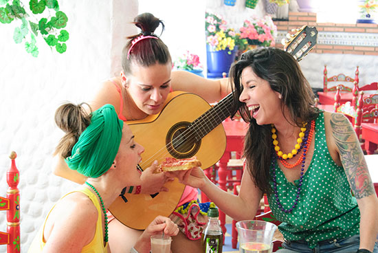 flamenco laughter therapy workshop services