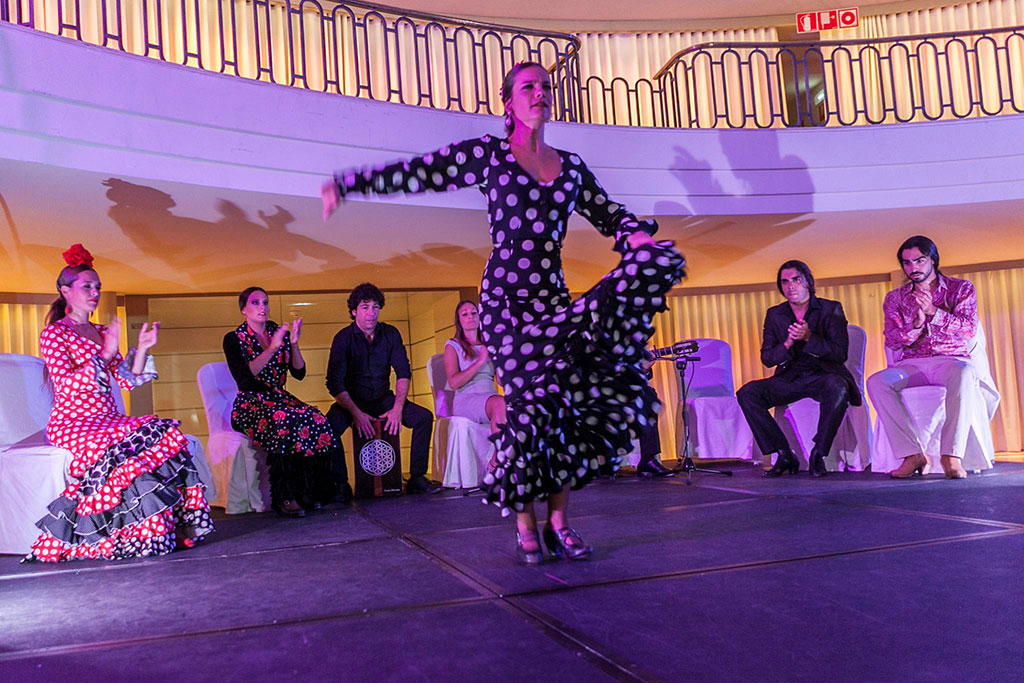 hotel palace madrid flamenco event